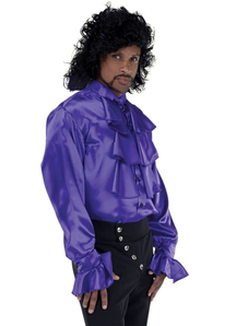 Pirate Shirt Purple Adult