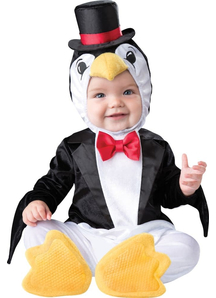 Playful Penguin Toddler Costume