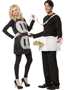 Plug and Socket Couple Costumes