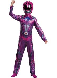 Power Pink Ranger Child Costume
