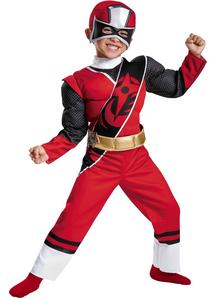 Red Ranger Steel Child Costume