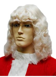Santa Wig White