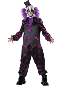 Scary Clown Halloween Adult Costume