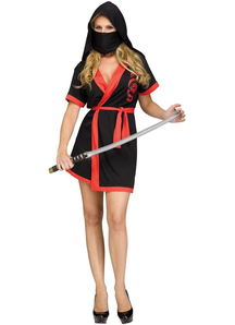 Sexy Ninja Girl Adult Costume