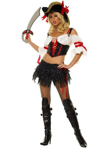 Sexy Pirate Girl Adult Costume
