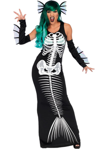 Skeleton Siren Adult Costume