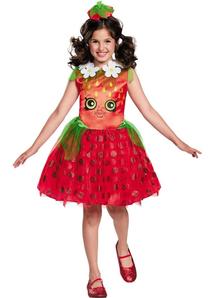 Strawberry Kiss Classic Costume For Children