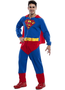 Superman Standart Costume For Adults