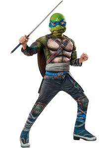 Tmnt 2 Leonardo Child Costume