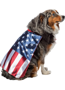 USA Flag Dog Costume