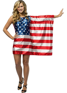 USA Flag Teen Costume
