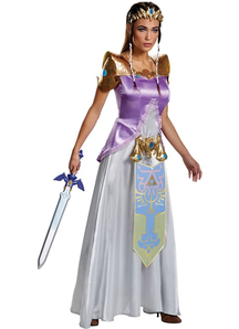 Zelda Deluxe Costume For Adults