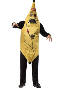 Zombie Banana Adult Plus Costume