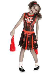 Zombie Cheerleader Child Costume