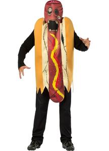 Zombie Hot Dog Adult Costume