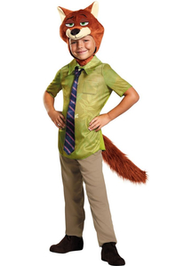 Zootopia. Nick Wilde Costume For Children