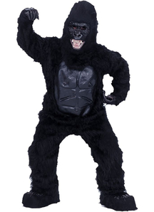 Black Gorilla Adult Costume