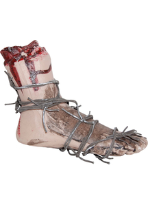 Bloody Foot With Wire Prop