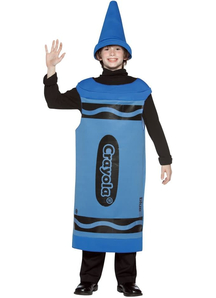 Blue Crayola Pencil Teen Costume