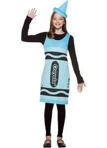 Blue Crayola Teen Costume