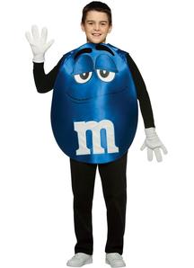 Blue M&M'S Teen Poncho