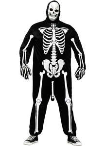 Body Skeleton Adult Plus Costume