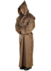 Brown Monk Robe Adult