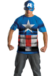 Captain America Adult Set