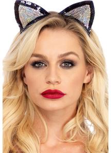 Cat Ears Sequin Adult