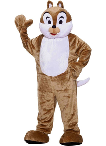 Chipmunk Mascot Adult Costume