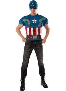 Classic Captain America Adult Kit