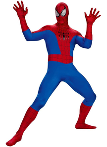Classic Spiderman Adult Plus Size Costume