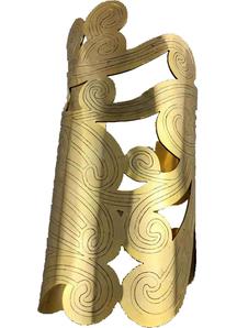 Cleopatra Coiled Cuff