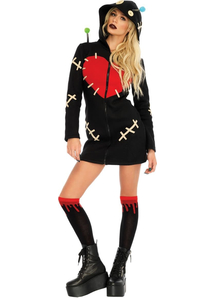 Cozy Voodoo Doll Adult Costume