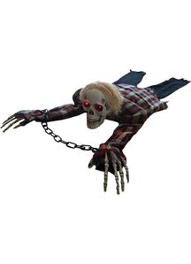 Crawling Animated Skeleton Prop