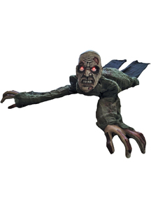 Crawling Animated Zombie Prop