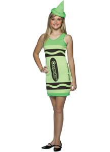Crayola Green Teen Costume