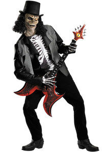Creepy Rocker Adult Costume