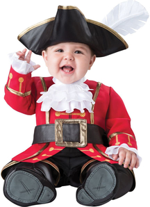 Cute Captain Toddler Costume