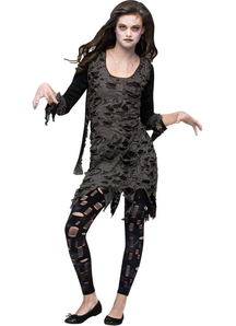 Dead Zombie Teen Costume