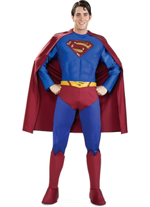 Deluxe Superman Adult Costume - 10419