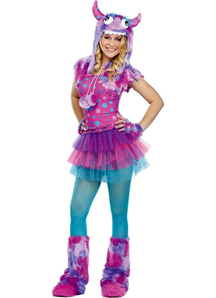 Dot Monster Teen Costume