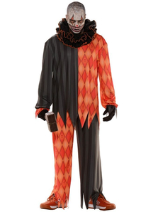 Evil Clown Halloween Teen Costume