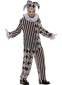 Evil Harlequinn Teen Costume
