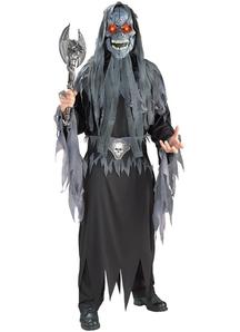 Evil Skull Halloween Adult Costume