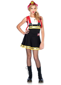 Firefighter Teen Costume