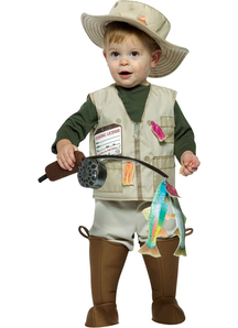 Future Fisherman Toddlers Costume 2