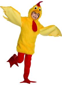 Fuzzy Chicken Child Costume