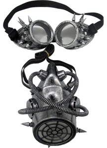 Gas Mask and Googles