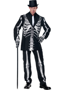 Gentle Skeleton Adult Costume